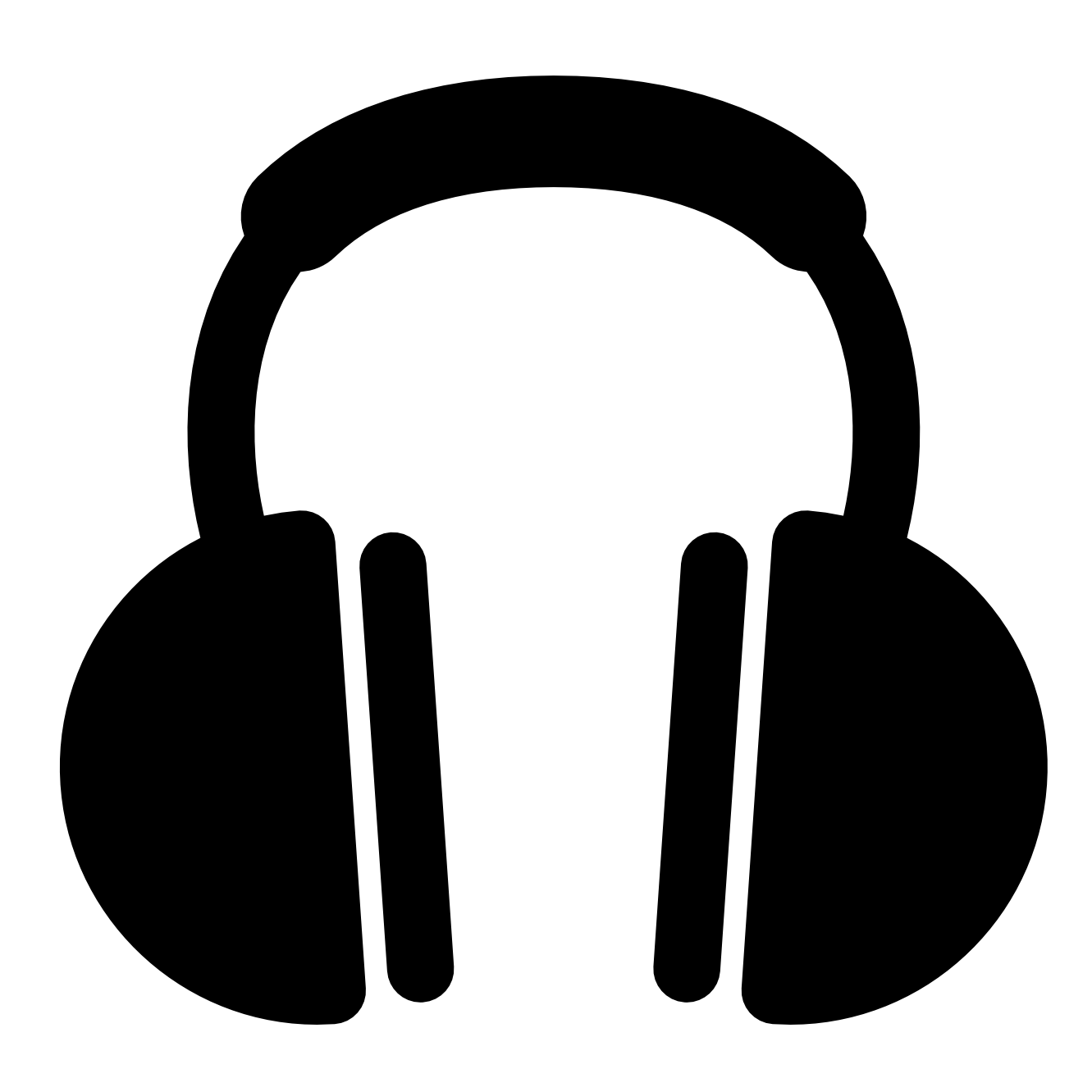 Download Free Vector Headphones Png image #20159