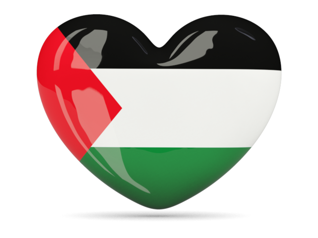 Heart, Palestinian, Palestine Flag Png image #38268