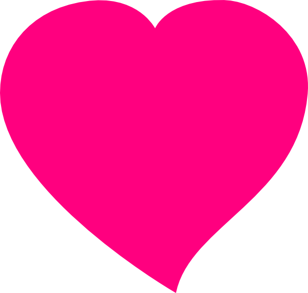 Heart Pink Clip Art Png image #44635