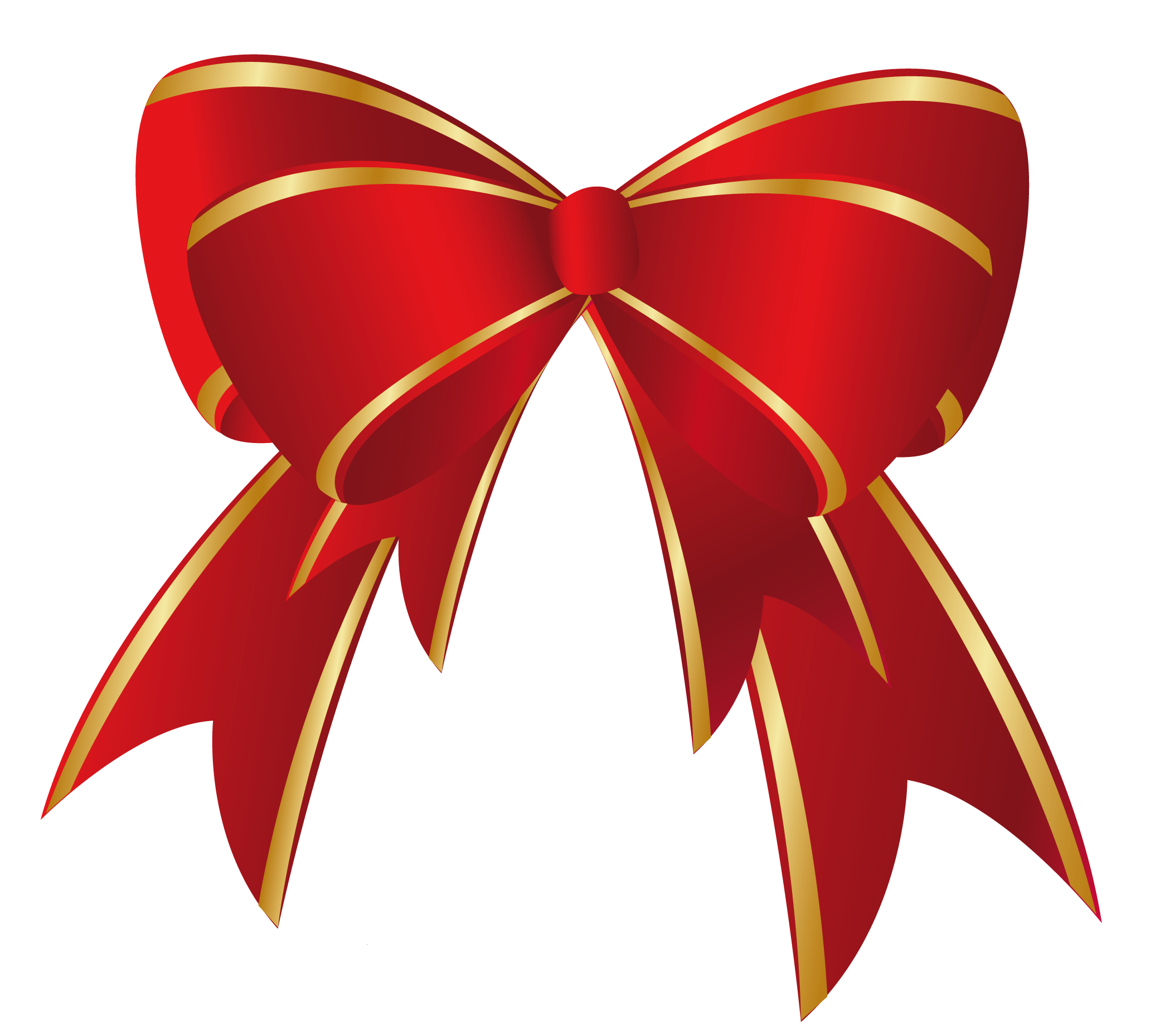 Heart With Red Bow Png Clipart