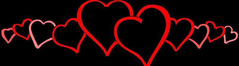 hearts pattern, valentine png