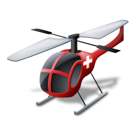 Helicopter Icon image #21968