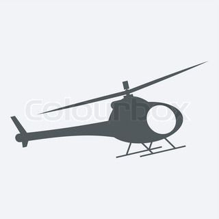 Helicopter Icon image #21972