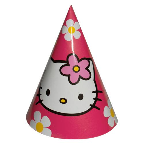 Hello kitty birthday hat png