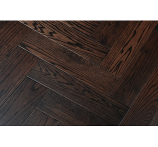 Herringbone Hardwood, Oak Herringbone Flooring Black Grained image #41341