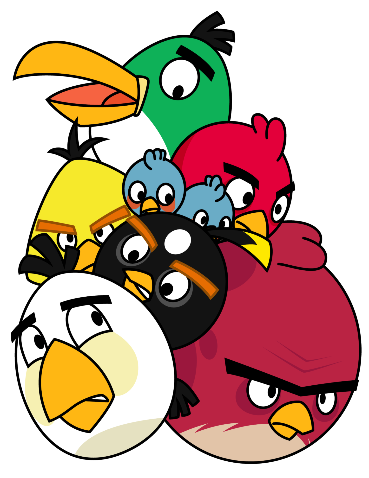 High quality Angry Birds Transparent Png Images