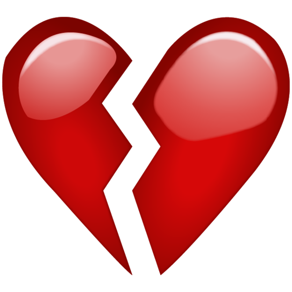 High-quality Broken Heart Cliparts image #45708