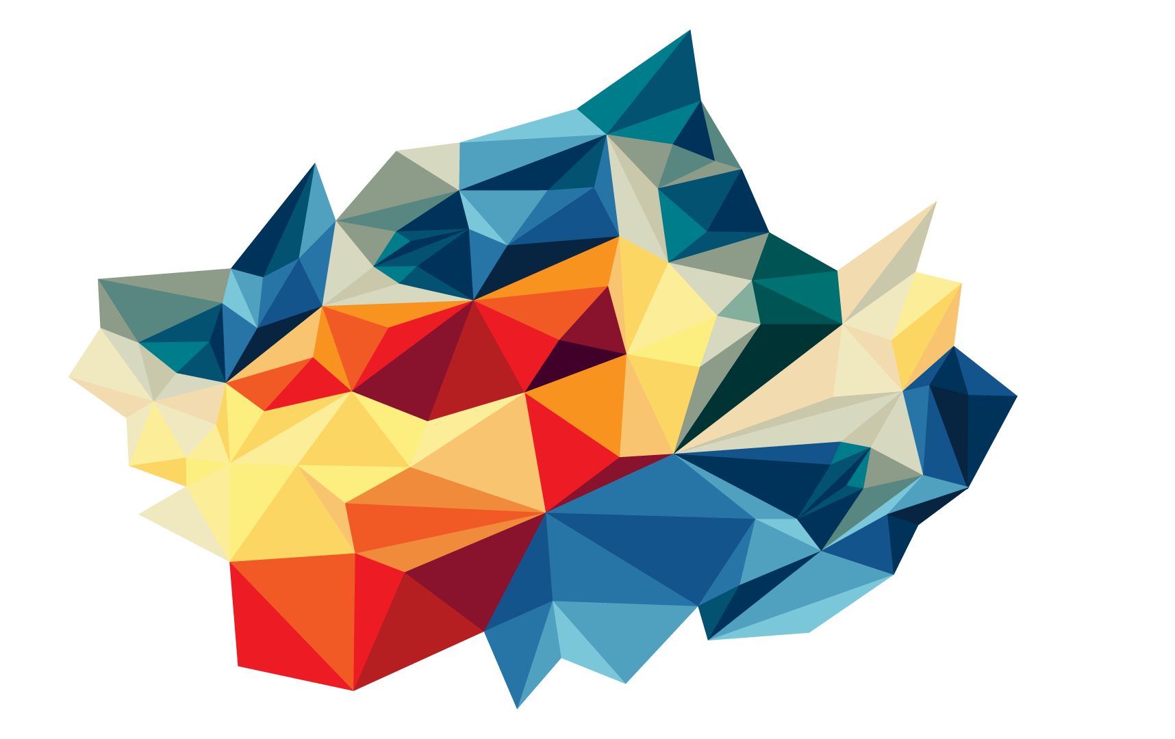 High Resolution Abstract Triangles Png Icon image #46462