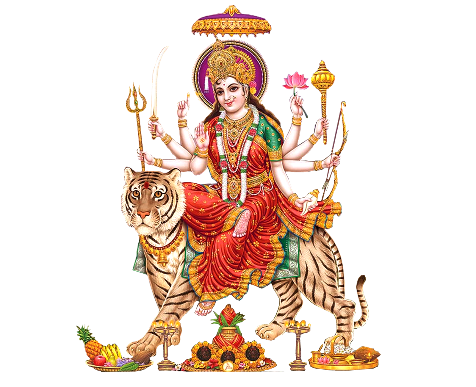 High Resolution Durga Png Clipart image #45455