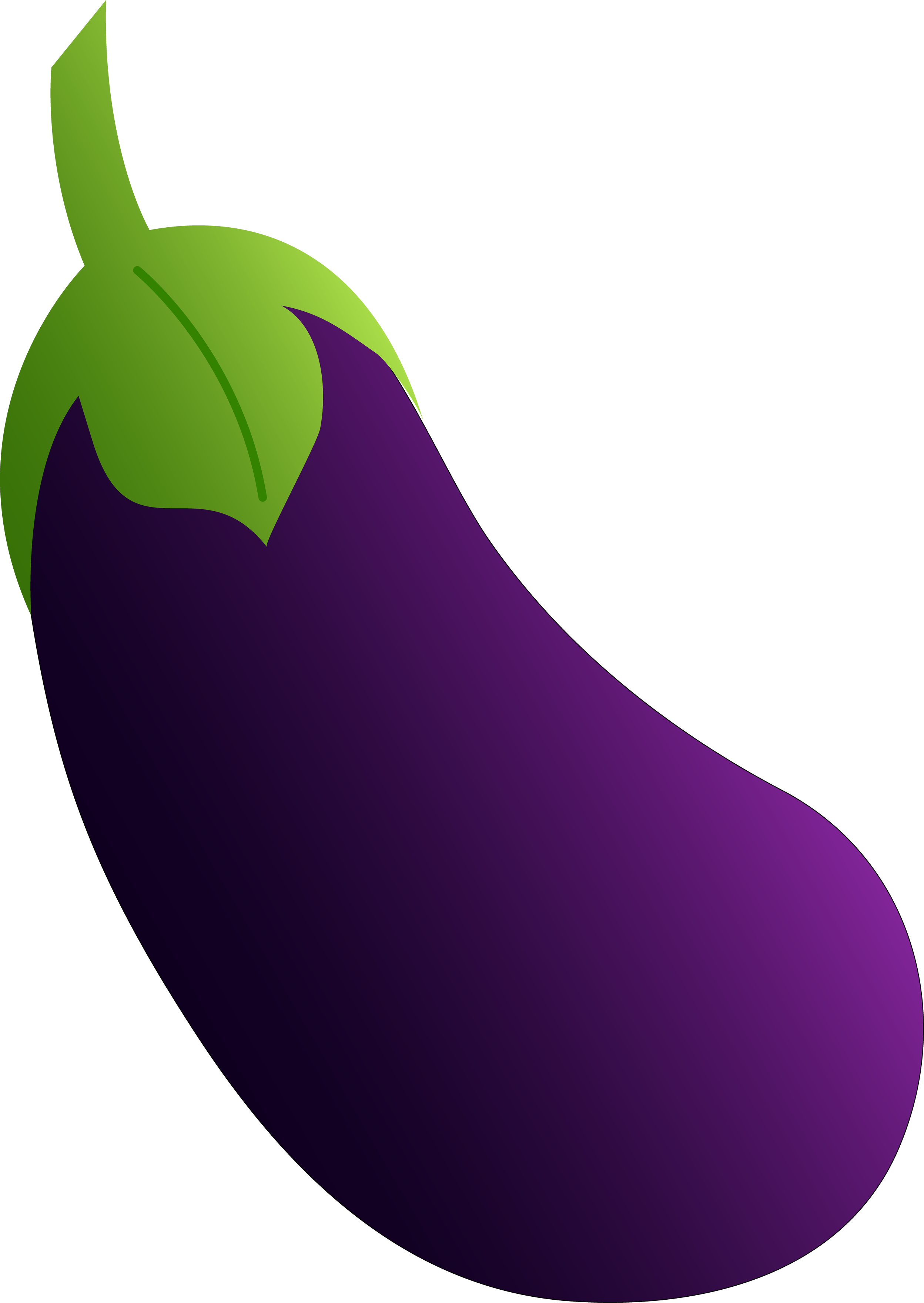 High Resolution Eggplant Png Clipart