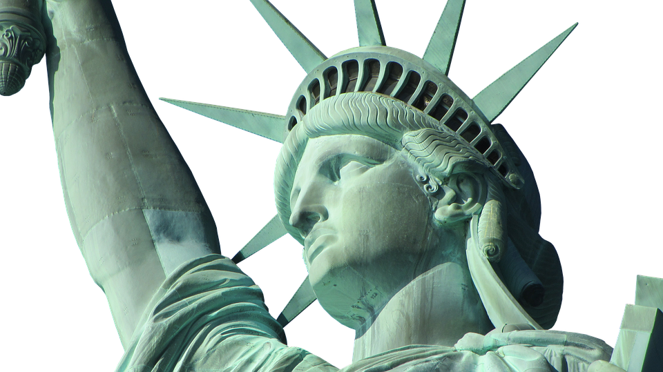High Resolution Statue Of Liberty Clipart 960x539, Statue Of Liberty HD PNG Download