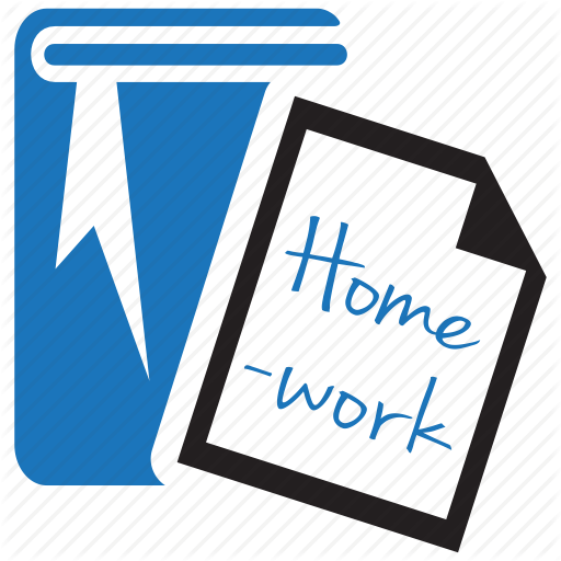 Homework Icon Vector image #12149
