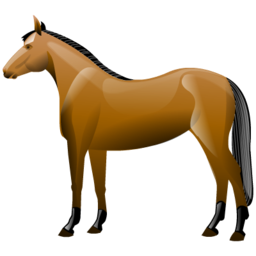 Drawing Horse Icon image #26435