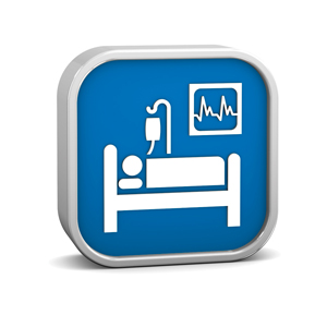 Hospital Bed Icon image #7307