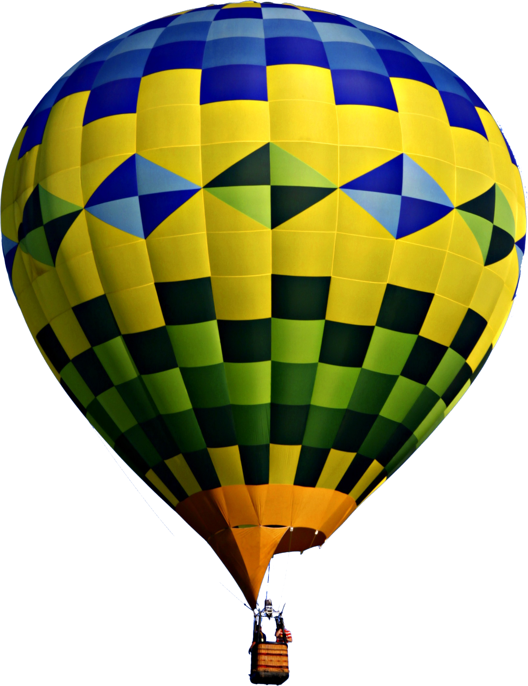 Hot Air Balloon No Background image #46776