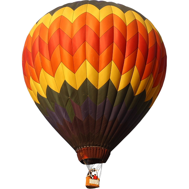 Hot Air Balloon Transparent PNG