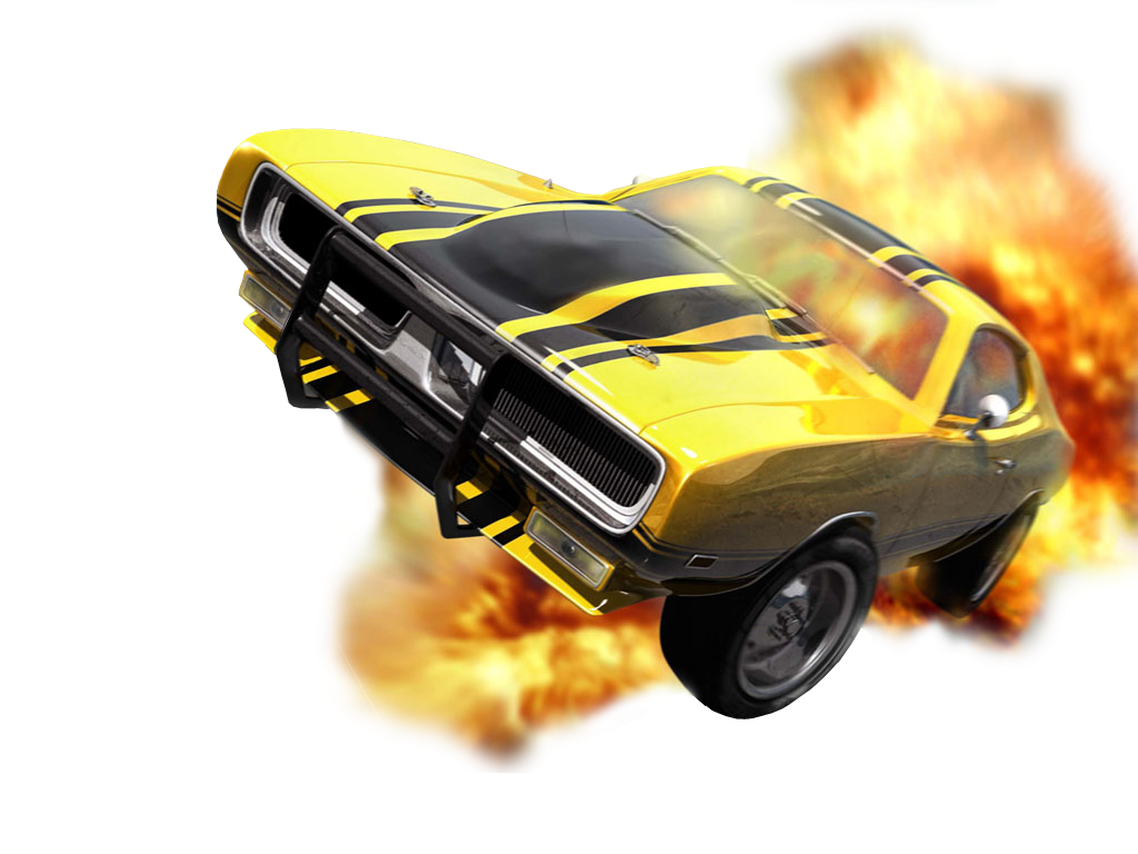 Hot Car Camilla In Fire Png Clipart image #46891