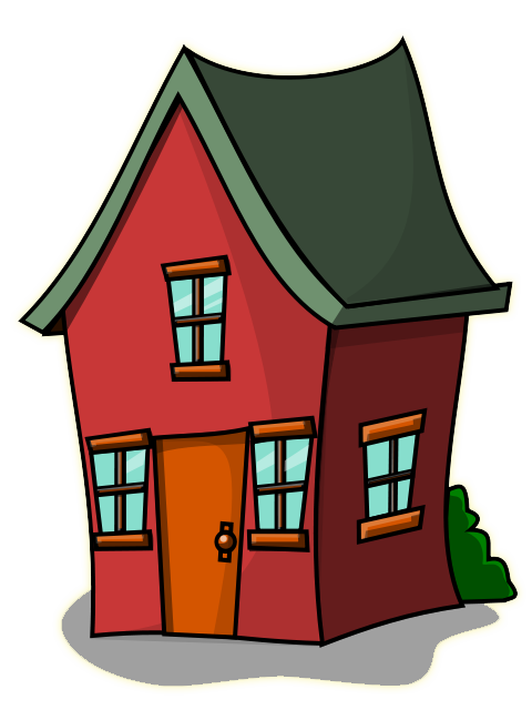 House Halloween Clipart image #45371