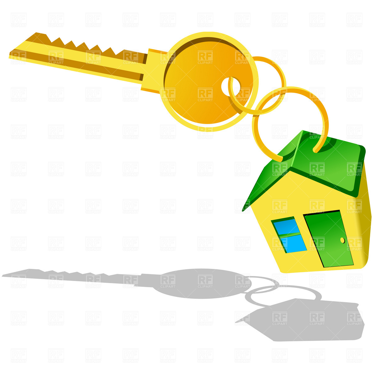 House With Key Icon image #41567
