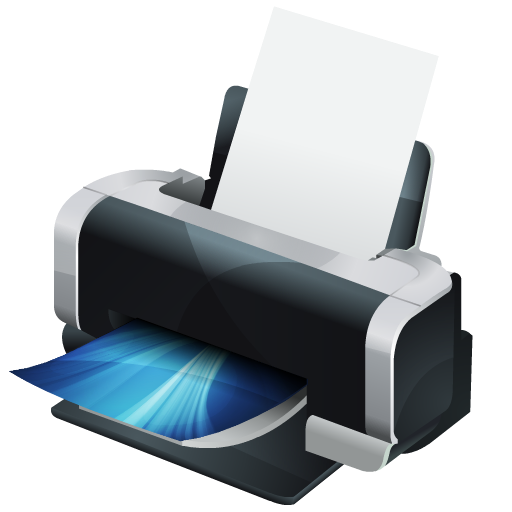 HP Printer Icon | Hydropro Hardware Iconset | Media Design