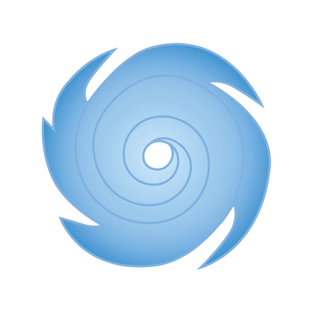 Hurricane logo icon