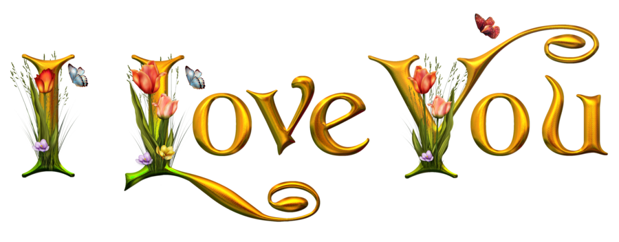 I Love You Png image #30872