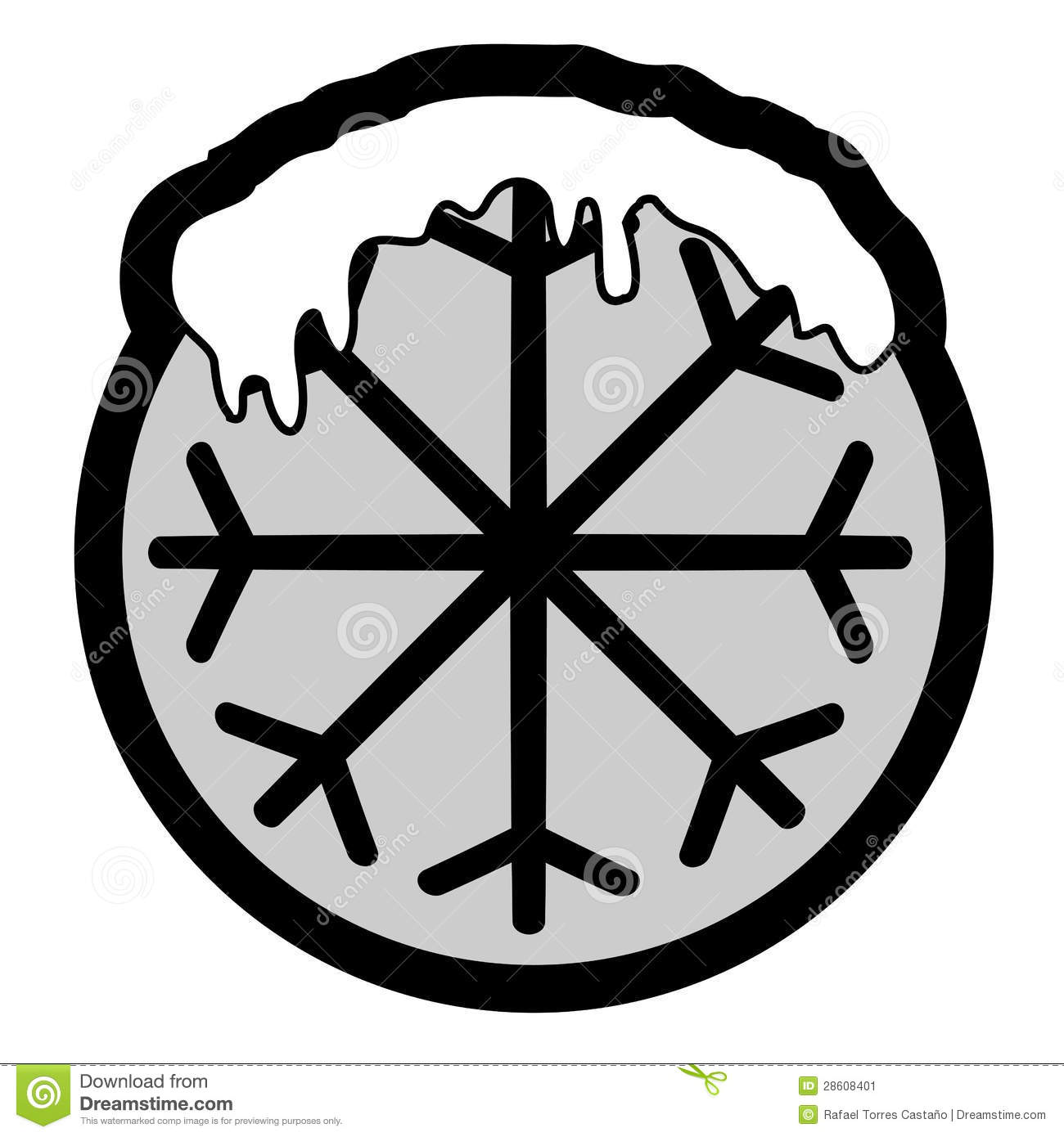 Ice Icon Stock Image  Image: 28608401