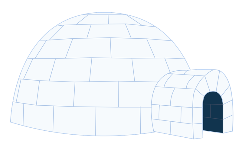Free Download Of Igloo Icon Clipart image #33764