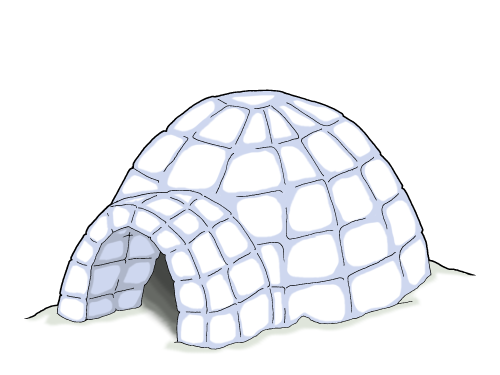 High Resolution Igloo Png Clipart image #33767