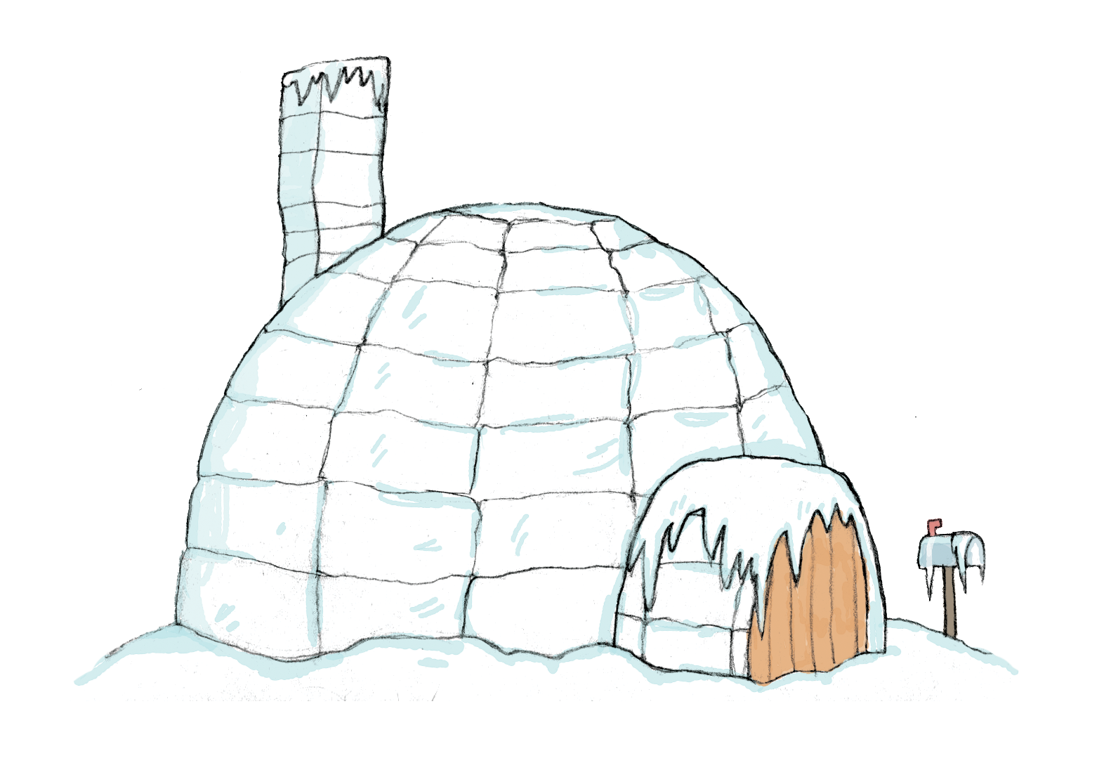 Igloo Snow House Png