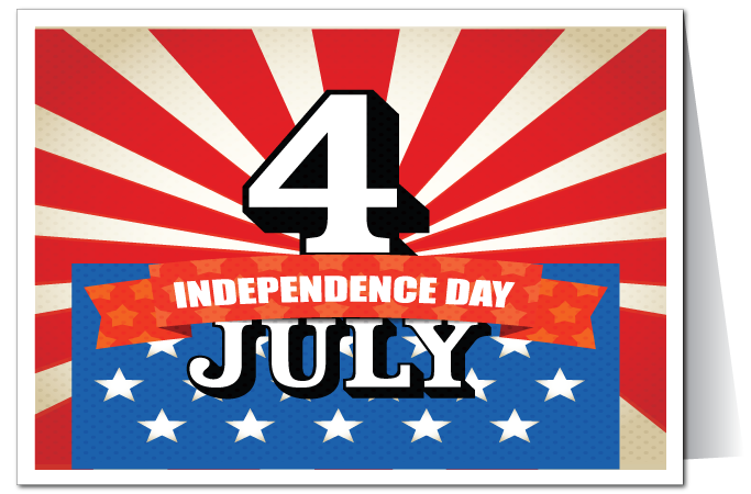 Independence Day 4th July PNG Image