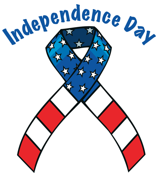 independence day ribbon png