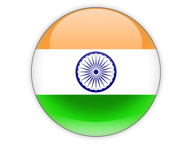 India Flags Icon Png 640x480, Flags HD PNG Download