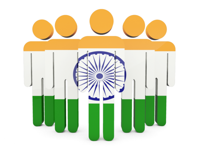 Indian Flag Icon Free Image