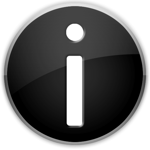 Transparent Info Icon image #23829