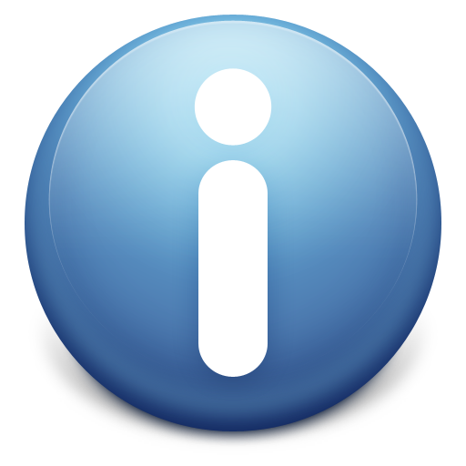 Information Icon UAL Blue HQ Vers 1 062311 Png 512x512, Information HD PNG Download
