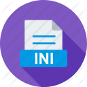 INI File Windows Icon image #3886