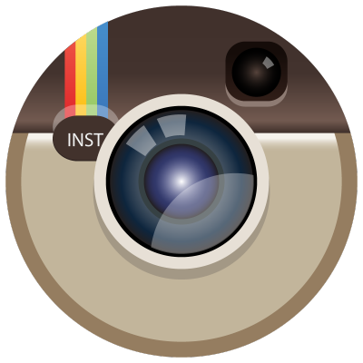 instagram icon circle vector logo