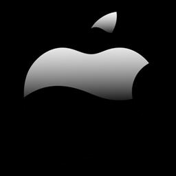 Resultado de imagen para apple logo 2013 png