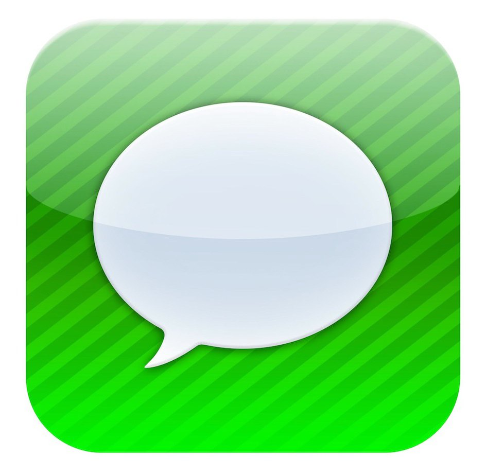 Iphone Message App Icon image #19008