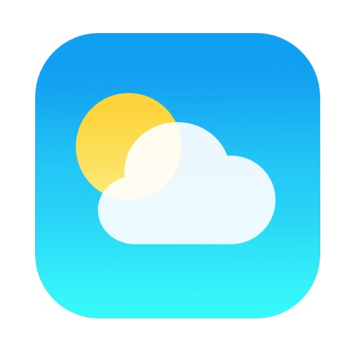 Iphone Weather App Icon image #19007