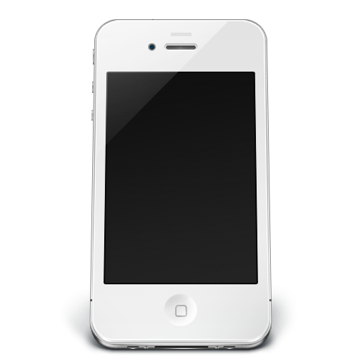 Iphone White Icon Png image #19016