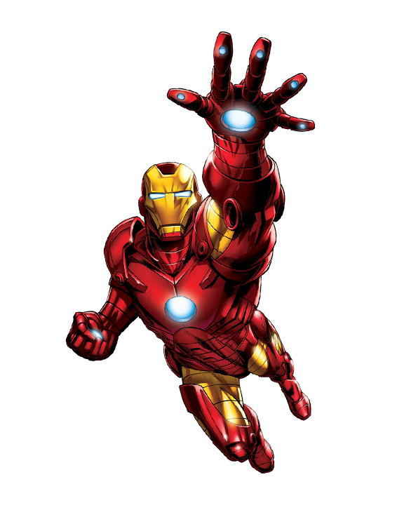 PNG File Iron Man image #13123