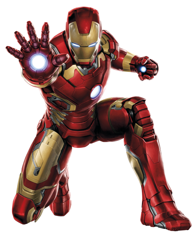 High Resolution Iron Man Png Clipart #13125 - Free Icons ...