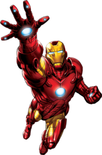 HD PNG Iron Man image #13126