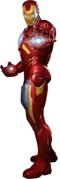 Iron Man File PNG image #13137