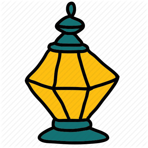 Islam, islamic, lamp, ramadan icon