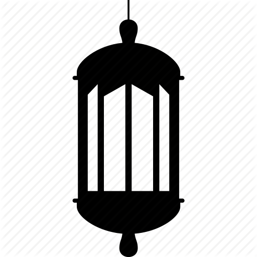 islamic lamp, lamp, ramadan, simple lamp icon