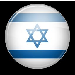 Israel Flag Icon image #38224
