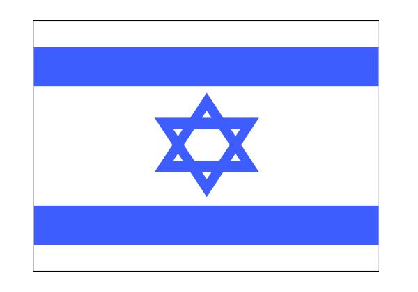 Israel Flag Png image #38234